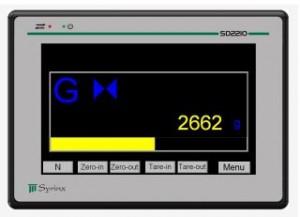 sd2210 weegelektronica
