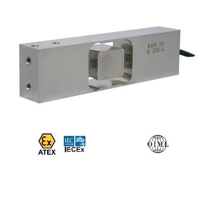 Verbeterde stainless steel platformweegcel type AVX