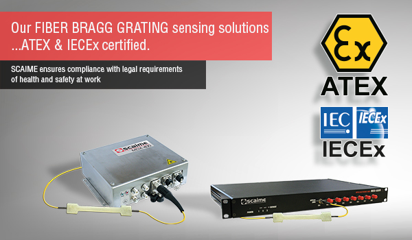 ATEX en IECEx certificering voor fiber optische meetoplossingen