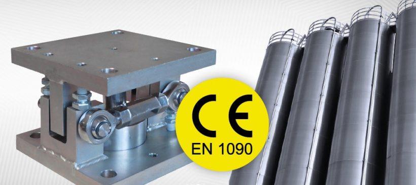 Montageset voor tank- en siloweging EN1090 gecertificeerd