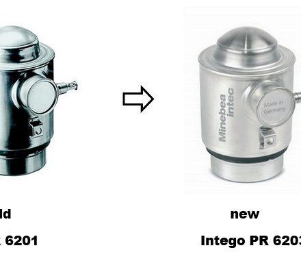 INTECO PR 6203 opvolger load cell serie PR 6201